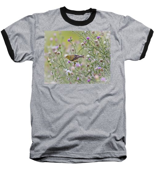 Thistle Bender Baseball T-Shirt by Kerri Farley