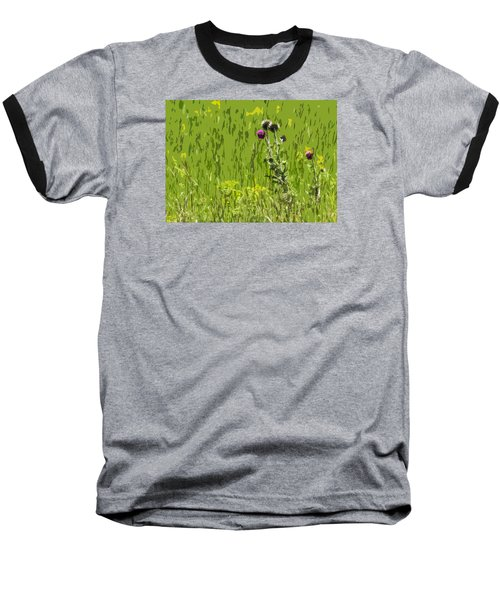 Thistle In Bear Trap Canyon Baseball T-Shirt