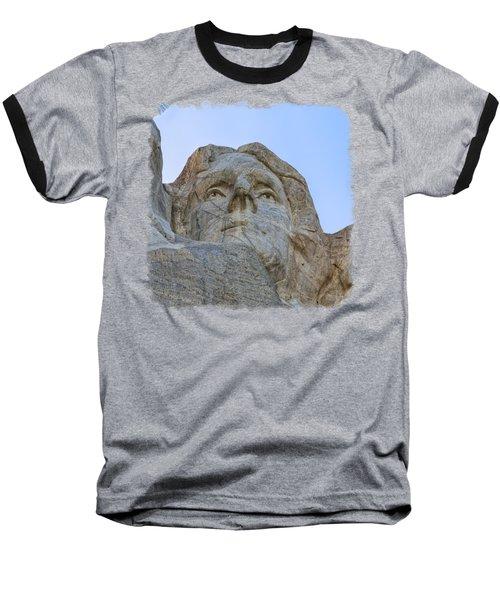 Thomas Jefferson 3 Baseball T-Shirt by John M Bailey