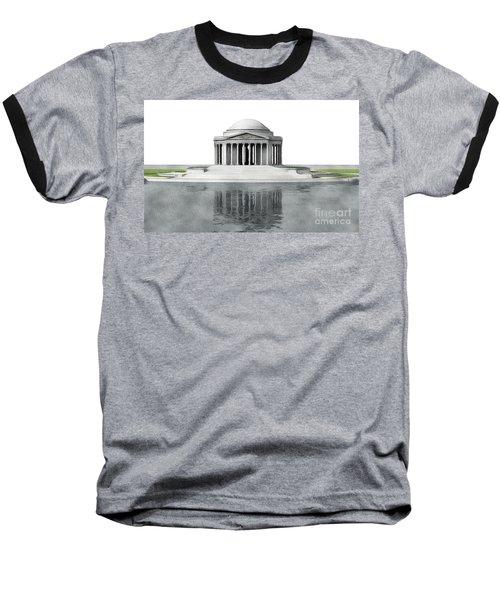 Thomas Jefferson Memorial, Washington Baseball T-Shirt