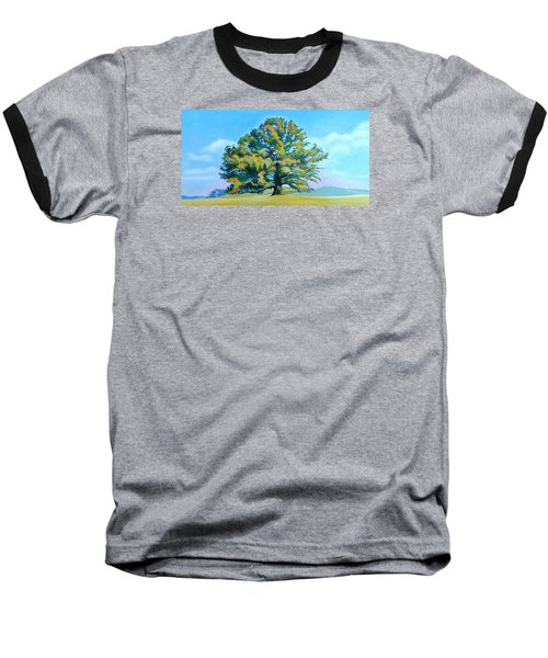 Thomas Jefferson's White Oak Tree On The Way To James Madison's For Afternoon Tea Baseball T-Shirt by Catherine Twomey