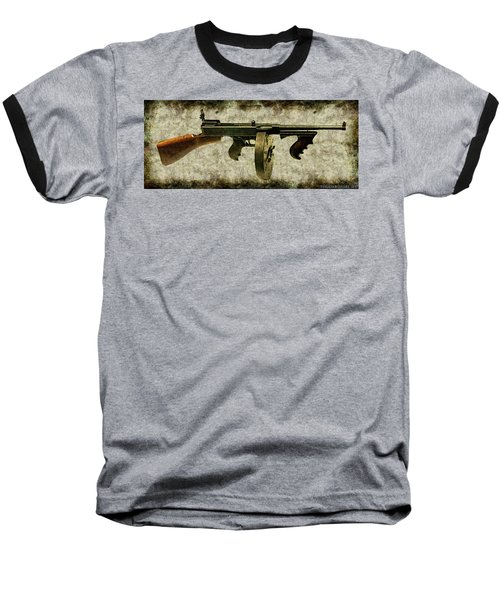 Thompson Submachine Gun 1921 Baseball T-Shirt