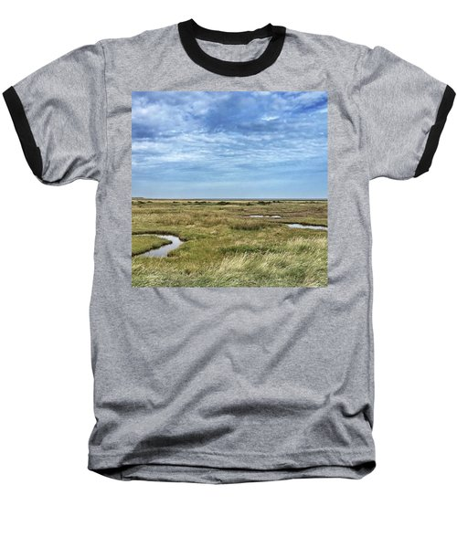 Thornham Marshes, Norfolk Baseball T-Shirt