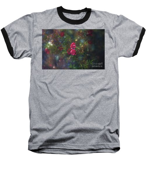 Thorns And Roses II Baseball T-Shirt by Agnieszka Mlicka