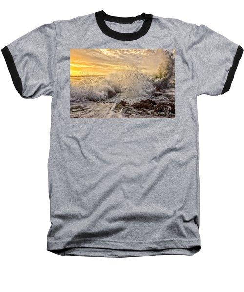 Thor's Wave Baseball T-Shirt by Billie-Jo Miller