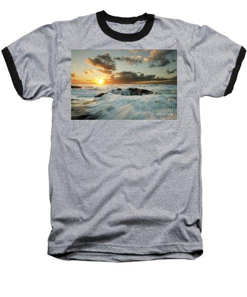 Thors Well Cape Perpetua 1 Baseball T-Shirt by Bob Christopher