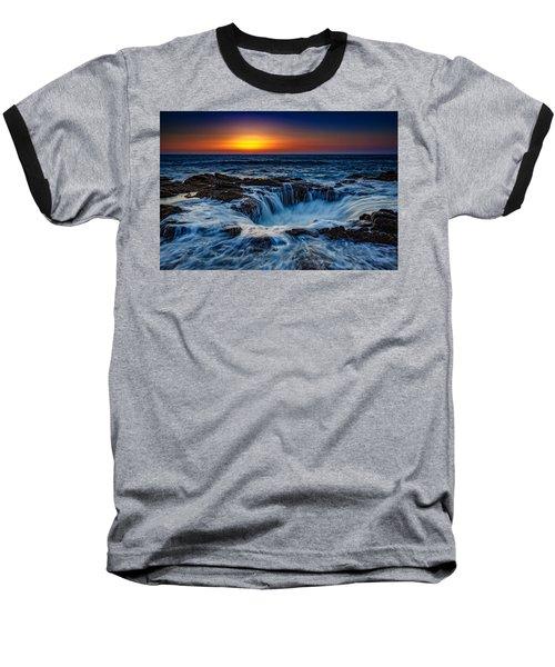 Thor's Well Baseball T-Shirt