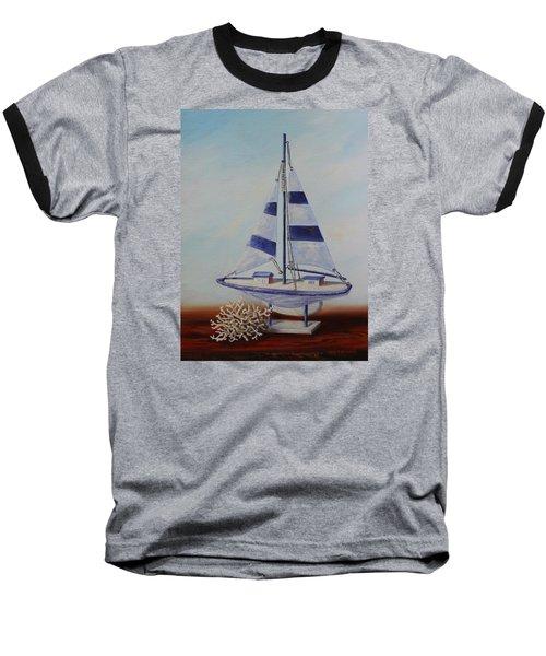 Thoughts Of Sea Baseball T-Shirt