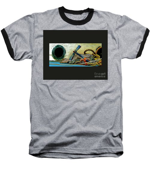 Thoughts Of The Sea Baseball T-Shirt