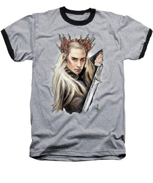 Thranduil / The Hobbit / Baseball T-Shirt by Melanie D