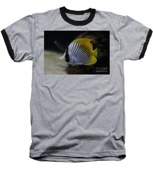 Threadfin Butterfly Fish Baseball T-Shirt
