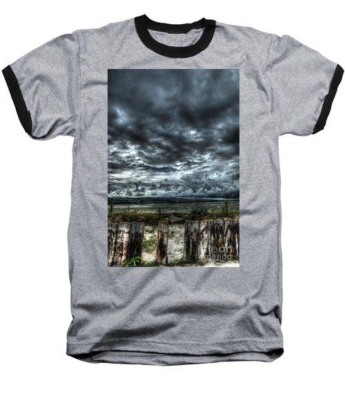 Threatening Sky Baseball T-Shirt