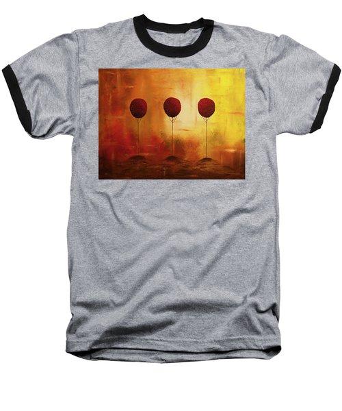Three Alone But Together Baseball T-Shirt
