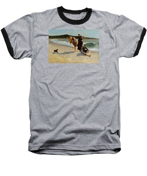 Three Bathers Baseball T-Shirt