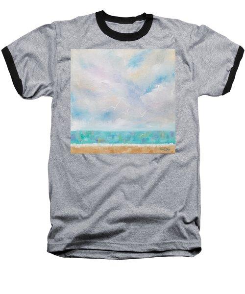Three By The Sea Baseball T-Shirt