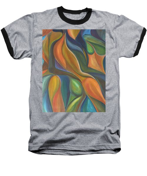 Three Dancers Smooth Baseball T-Shirt