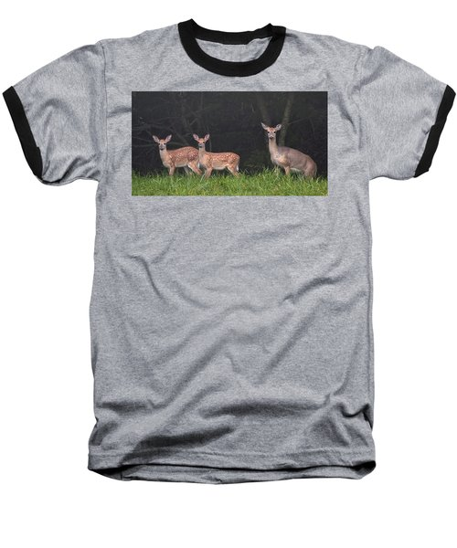 Three Does Baseball T-Shirt