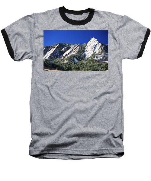 Three Flatirons Baseball T-Shirt