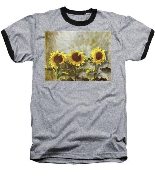 Three In The Sun Baseball T-Shirt