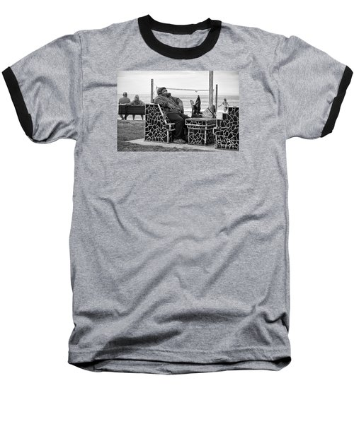 Three Laguna Lifestyles Baseball T-Shirt by Vinnie Oakes