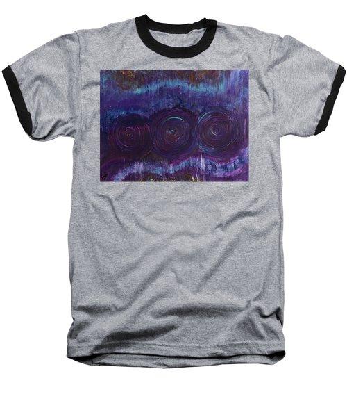 Three Mandalas Baseball T-Shirt