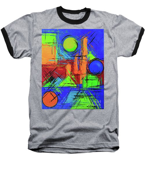 Three Moons Baseball T-Shirt by Jeanette French