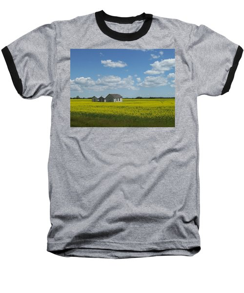 Baseball T-Shirt featuring the photograph Three Of A Kind by Mary Mikawoz