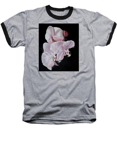 Three Orchids Baseball T-Shirt