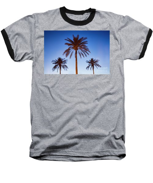Three Palms Baseball T-Shirt