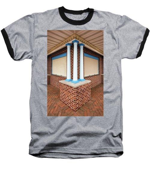 Three Pillars At The Refreshment Stand Baseball T-Shirt