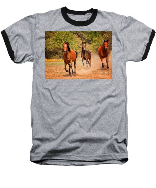 Three Racers Baseball T-Shirt
