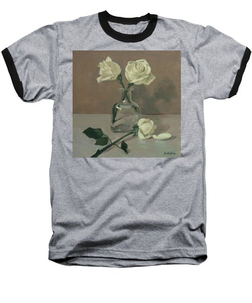 Two Roses In A Tequila Bottle Baseball T-Shirt