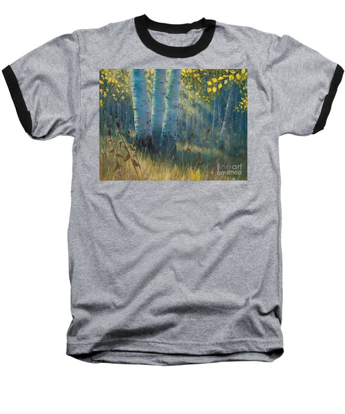 Three Sisters - Spirit Of The Forest Baseball T-Shirt