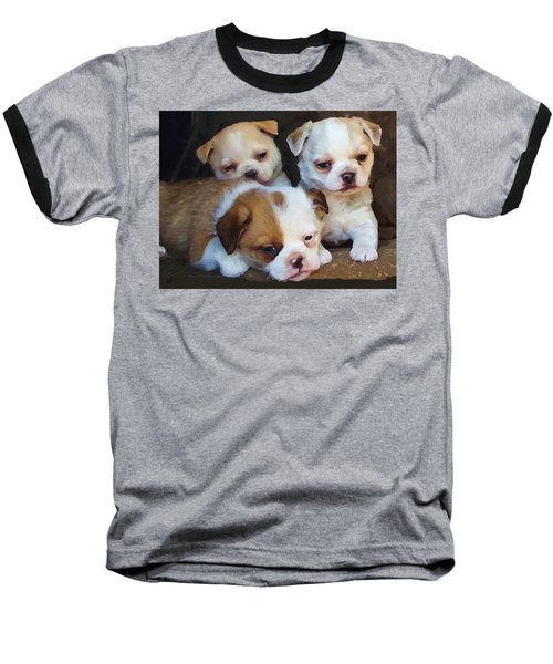 Three Sweeties Baseball T-Shirt