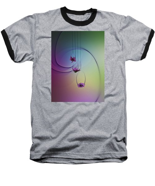 Baseball T-Shirt featuring the photograph Three Swings by Judy Johnson
