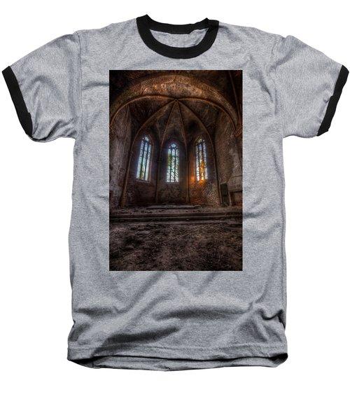 Three Tall Arches Baseball T-Shirt