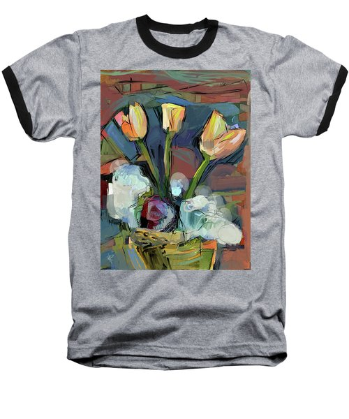 Three Tulips Baseball T-Shirt