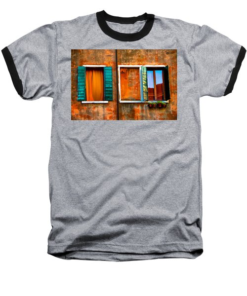 Three Windows Baseball T-Shirt