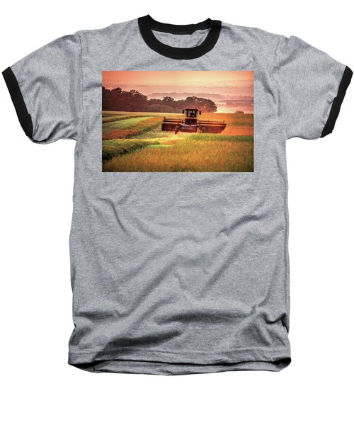 Swathing On The Hill Baseball T-Shirt