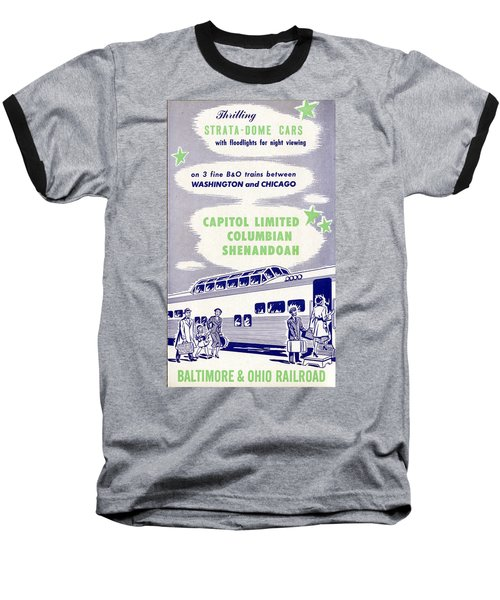 Thrilling Strata-dome Cars Baseball T-Shirt