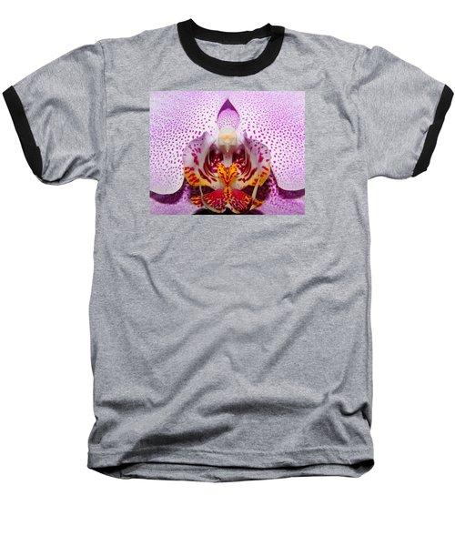 Throat Of An Orchid Baseball T-Shirt