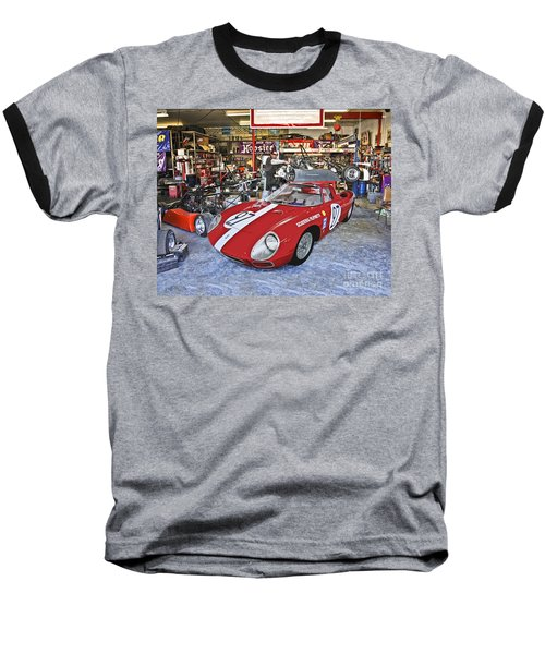 Throphy Car Baseball T-Shirt
