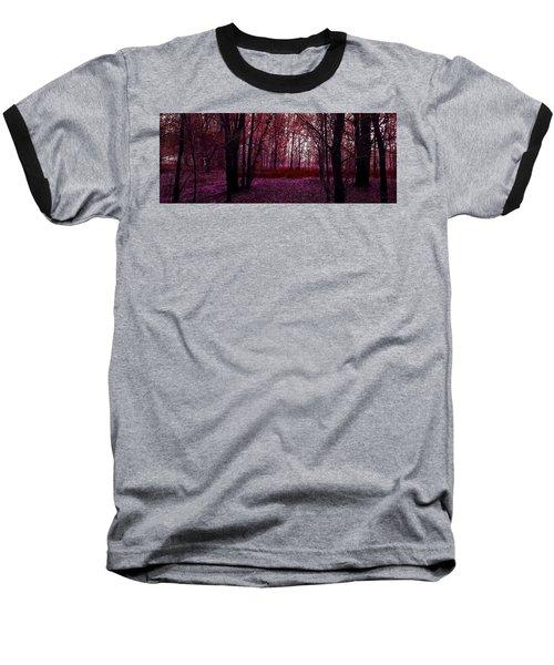 Through A Forest Baseball T-Shirt by Michele Carter