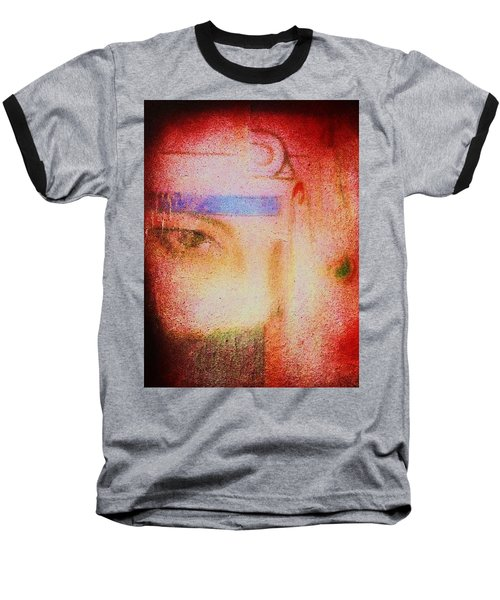 Through A Glass Darkly Baseball T-Shirt by Roberto Prusso