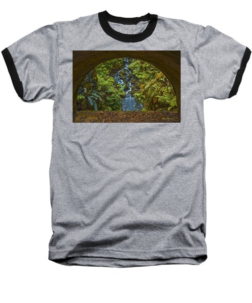 Through The Arch Signed Baseball T-Shirt