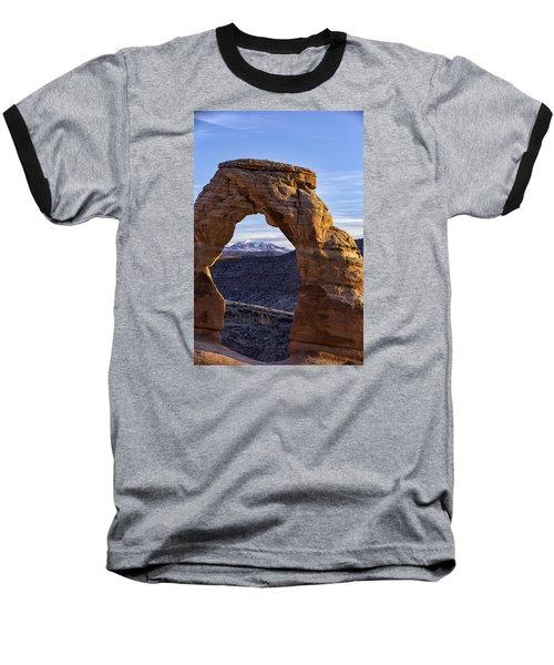 Through The Delicate Arch Baseball T-Shirt