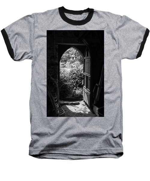 Baseball T-Shirt featuring the photograph Through The Door by Clare Bambers