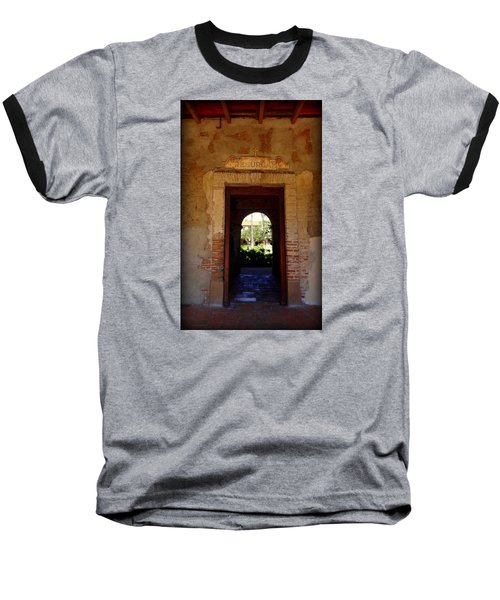 Through The Doorway Baseball T-Shirt