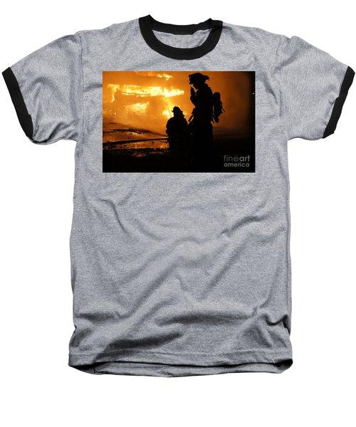 Through The Flames Baseball T-Shirt