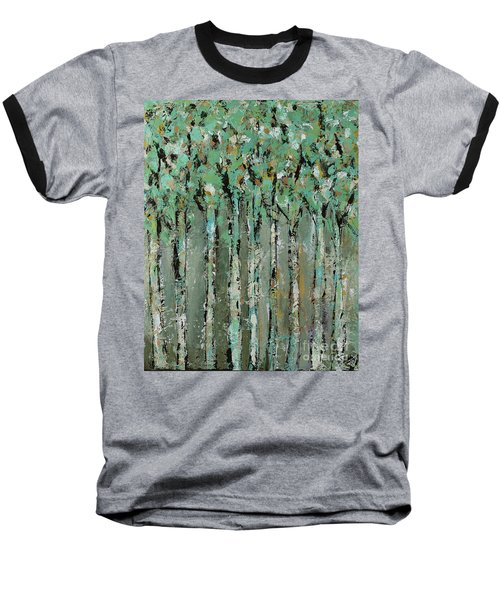 Through The Forest Baseball T-Shirt by Kirsten Reed